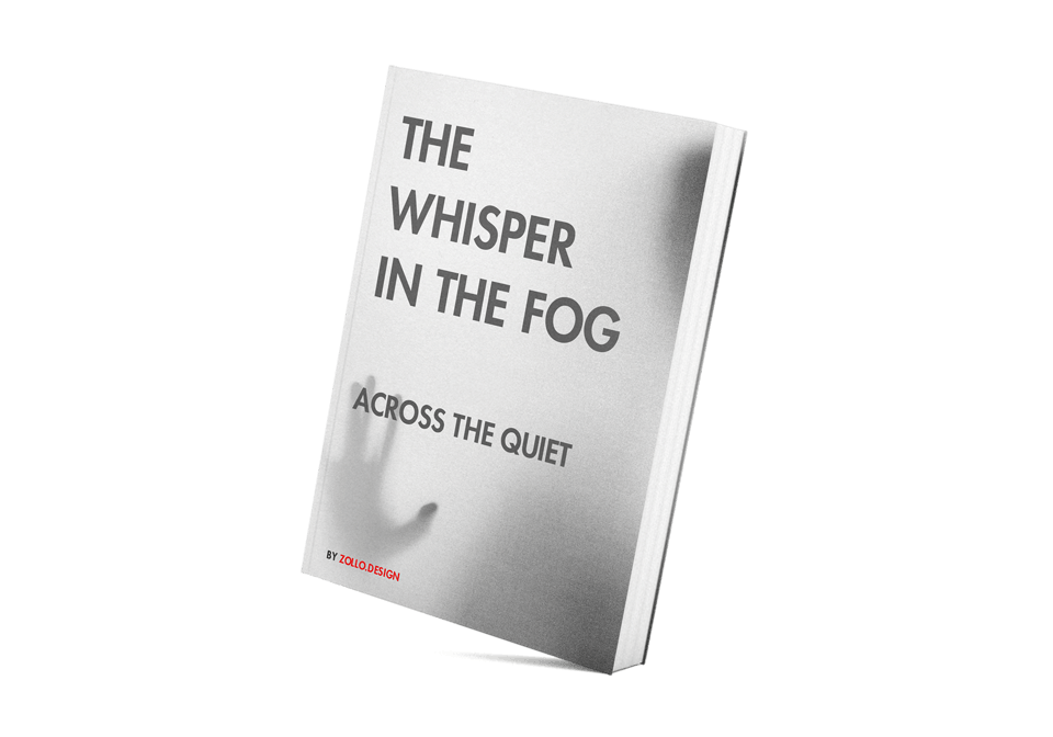 The Whisper in the Fog Book Cover concept by Zollo.Design